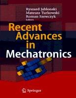 Recent Advances in Mechatronics - Ryszard Jabonski et al (Eds) Episode 1 Part 1 doc