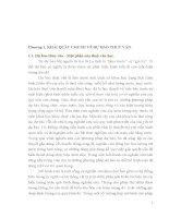 Chương 1. KHÁI QUÁT CHUNG VỀ DỰ BÁO THUỶ VĂN. 1.1. Dự báo thủy văn - Một phần docx