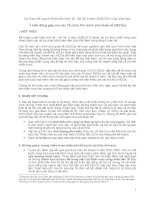 Dự thảo Kế hoạch Phát triển Kinh tế - Xã hội 5 năm 2006-2010 của Việt Nam Ý pps
