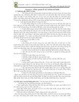 HỆ THỐNG KHÍ NÉN, THUỶ LỰC ( ThS. Nguyễn Phúc ) - CHƯƠNG 1 ppsx