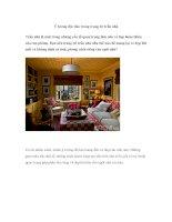 Ý tưởng độc đáo trong trang trí trần nhà pdf