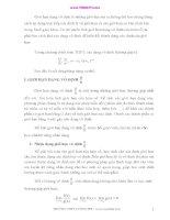 Những dạng vô định thường gặp trong bài toán tìm giới hạn của hàm số ppsx