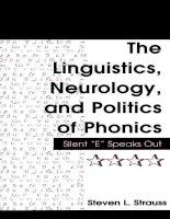 THE LINGUISTICS, NEUROLOGY, AND POLITICS OF PHONICS - PART 1 docx