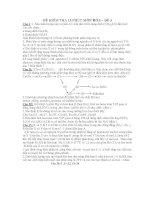 ĐỀ KIỂM TRA 15 PHÚT MÔN HÓA – ĐỀ 3 pot