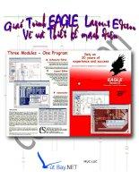 Giáo trình vẽ và thiết kế mạch điện chương trình Eagle potx