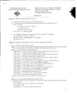 Đáp án đề thi học kỳ 2 môn cơ sở dữ liệu pdf