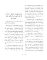 Thành tạo bờ các hồ chứa nhỏ vùng rừng ( Nhà xuất bản đại học quốc gia Hà nội ) - Chương 4 ppt