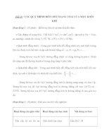 Tiết 19 : CÁC QUÁ TRÌNH BIẾN ĐỔI TRẠNG THÁI CỦA MỘT KHỐI KHÍ pot