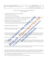 Công ty cổ phần Bibica - Thuyết minh báo cáo tài chính quý 4 năm 2009 pps