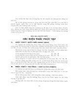 Tự đặt hợp âm cho đàn Guitar và Organ tập 2 part 3 pptx