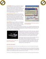 Giáo trình window: Hướng dẫn xử lý các vấn đề trong hệ thống chương trình trên window phần 3 pps
