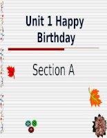 Giáo án điện tử tiểu học môn tiếng Anh: happy birthday docx