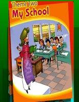 Giáo án điện tử tiểu học môn tiếng Anh: my school potx
