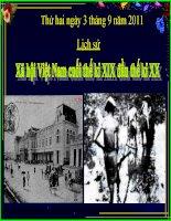 Giáo án điện tử tiểu học môn lịch sử: Lịch sử xã hội Việt Nam doc