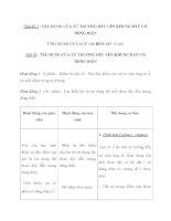 Chủ đề 3 : TÁC DỤNG CỦA TỪ TRƯỜNG ĐỀU LÊN KHUNG DÂY CÓ DÒNG ĐIỆN ỨNG docx
