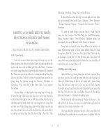 Thành tạo bờ các hồ chứa nhỏ vùng rừng ( Nhà xuất bản đại học quốc gia Hà nội ) - Chương 1 docx
