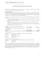 CÔNG TY CỔ PHẦN BÊ TÔNG 620 CHÂU THỚI - BÁO CÁO TÀI CHÍNH HỢP NHẤT NĂM 2009 potx