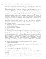 Plastic Product Material and Process Selection Handbook Part 9 ppsx