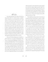 Thành tạo bờ các hồ chứa nhỏ vùng rừng ( Nhà xuất bản đại học quốc gia Hà nội ) - Chương 5 ppt