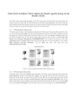 Giáo trình window: Định nghĩa tài khoản người dùng và tài khoản nhóm phần 1 pot
