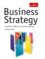 business strategy a guide to effective decision making phần 1 pptx