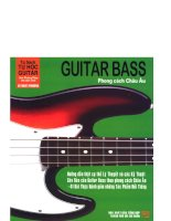 Guitar Bass – Phong cách Châu Âu part 1 docx