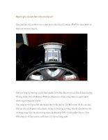 Nguồn gốc và cách làm việc của lốp xe? pot
