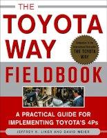 The Toyota Way Fieldbook phần 1 pdf