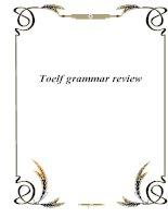 toelf grammar review potx