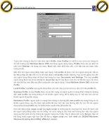 Giáo trình hướng dẫn cách điều chỉnh các thông tin nhập vào trong hộp thoại User phần 2 pptx