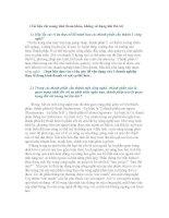 Những CÂU HỎI trọng tâm và ĐÁP ÁN môn Quản Trị Công Nghê pps