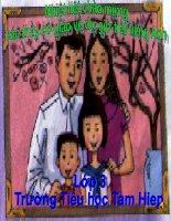 Giáo án điện tử tiểu học môn tiếng Anh: My family potx
