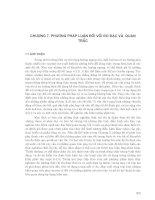Quá trình Phát tán vật chất trong các cửa sông và vùng nước ven bờ ( ĐH khoa học tự nhiên ) - Chương 7 pot