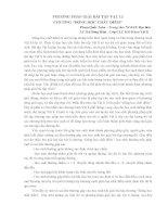 Phương pháp giải bài tập vật lí chương