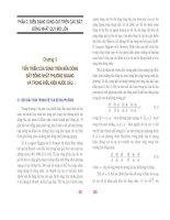 Mô hình hóa toán học sóng gió trong đại dương bất đồng nhất không gian ( Đại học quốc gia Hà Nội ) - Chương 5 pps