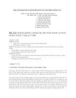 VI PHẠM ĐẠO ĐỨC KINH DOANH VÀ TRÁCH NHIỆM XÃ HỘI CỦA CÔNG TY VEDAN VIỆT NAM pdf