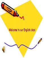 Giáo án điện tử tiểu học: tiếng anh lớp 3 unit 7- a4-5-6-7 pptx