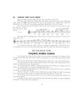 Tự đặt hợp âm cho đàn Guitar và Organ tập 2 part 2 ppsx