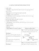 LUYỆN TẬP: NHẬN BIẾT MỘT SỐ CHẤT VÔ CƠ pdf