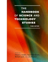 The Handbook of Science and Technology Studies Part 1 pps