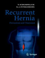 Recurrent Hernia Prevention and Treatment - part 1 ppsx