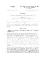 Nghị quyết số: 10/2011/QH13 potx