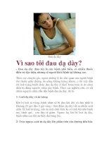 Vì sao tôi đau dạ dày? pdf