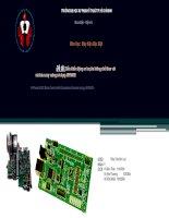 thuyết trình đề tài điều khiển động cơ ba pha không chổi than với mã hóa xung vuông sử dụng 56f800e