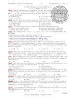 Bộ đề thi thử môn hóa học pot