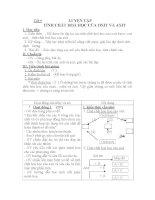 Tiết 9 LUYỆN TẬP TÍNH CHẤT HOÁ HỌC CỦA OXIT VÀ AXIT pdf