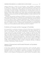 Psychiatric Diagnosis and Classification - part 2 docx