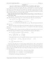Giáo trình cơ sở kỹ thuật điện-Chương 5:Mạch tuyến tính cói nguồn chu kỳ không điều hòa pot