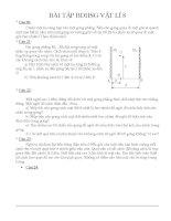 Bài tập  bồi dưỡng học sinh giỏi vật lý lớp 8