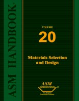 Materials Selection and Design (2010) Part 1 docx